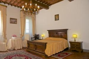 Palazzo Bove. La camera da letto disponibile su richiesta