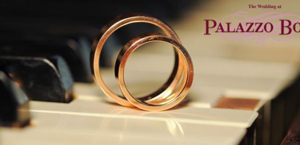 the wedding at Palazzo Bove